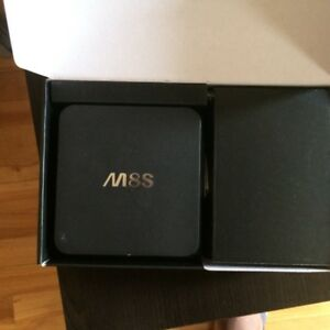 M8S Android TV Box Quad Core with free IPTV APKs