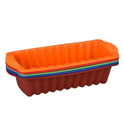 Loaf Tin Silicone Bakeware Non-stick Toast Bread Cake Baking Mold Pan Rectangle