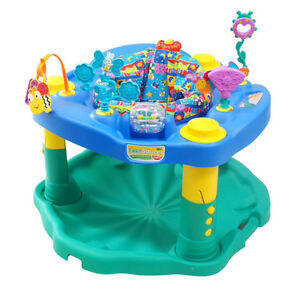 EVERFLO: Deluxe Exersaucer, Active Learning Center!