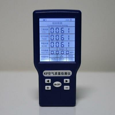Portable Co2 Ppm Meters Carbon Dioxide Detector Co2 Tvoc Hcho Aqi Monitor