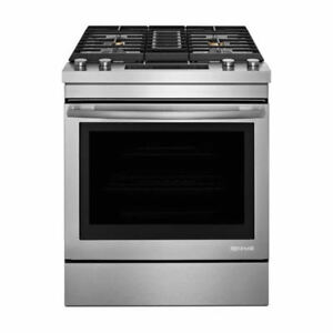 30-INCH SLIDE-IN DUAL-FUEL Downdraft RANGE