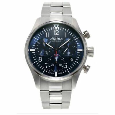 Alpina Startimer Pilot Men's Swiss Quartz Chronograph 42mm Watch AL-371NN4S6B