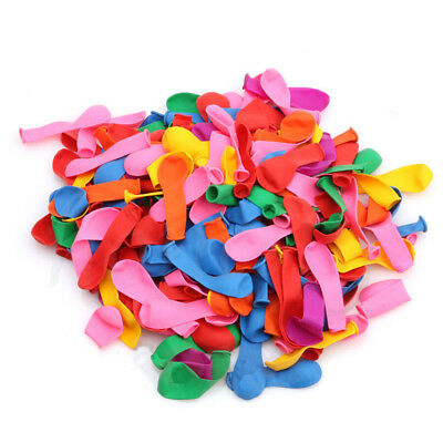 100~500X Mixed Colorful Water Bomb Balloons Fun Toys Garden Beach War Outdoor