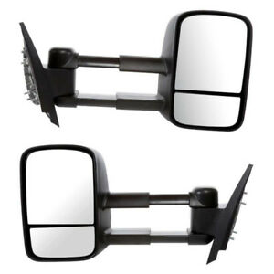 GMC SIERRA CHVROLET SILVERADO Manual Side View Mirrors 2007-2014