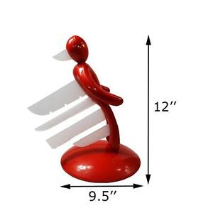 Unique Design 5 Pcs Knife Holder Edition Red (020045)