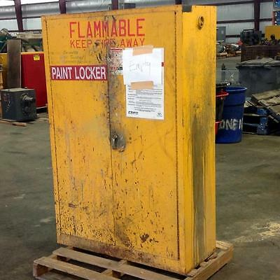 Lyon Metal Products 45 Gal. Flammable Safety Cabinet Cat. No. 5444 Wks