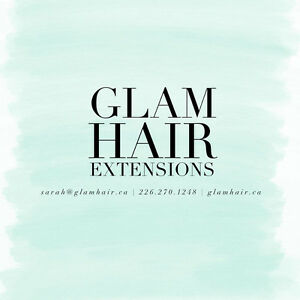 Glam Hair Extensions - Tape, Microlink/Nanolink www.glamhair.ca London Ontario image 11