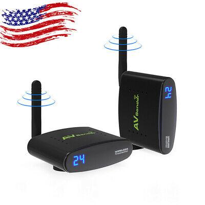 PAT-635 5.8GHz AV Wireless Transmitter Receiver Sender Audio Video 200m US Stock