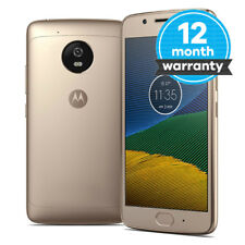 Motorola MOTO G5 Plus - 32GB - Fine Gold (Unlocked) Smartphone - Very Good Cond