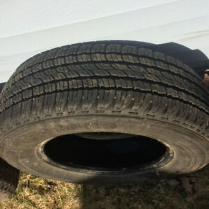 215/70/15	Firestone Destination LE    -  1 Tire   80% Tread