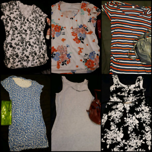 Huge lot of Maternity clothes fits size XL to XXL