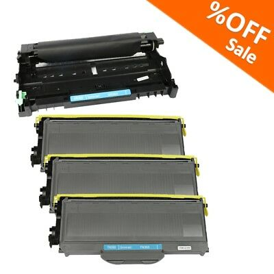 4P TN360 Toner Cartridge and Drum For Brother HL2170W MFC7840W MFC7340 Black INK