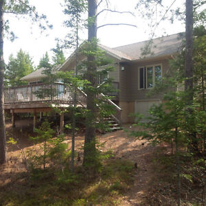 4 Season Waterfront Residence - Custom Built Point Property!