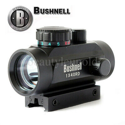 Bushnell 1x40RD Holographic Red Dot Sight Rifle Scope 11mm/20mm Rail Mount fast