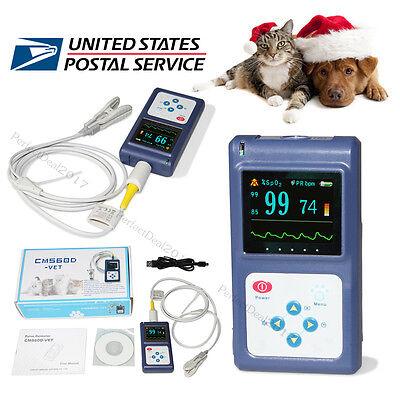 Veterinary Pulse Oximeter Tongueear Spo2 Pulse Rate Blood Oxygensoftwareusb