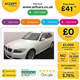 BMW 330 FROM £41 PER WEEK!
