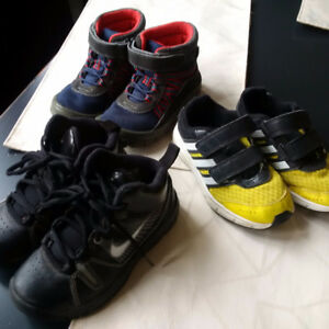 Boys running shoes size 11