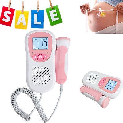 New Ce Ultrasonic Fetal Doppler Lcd Screen Heart Beat Monitor Listen To Baby