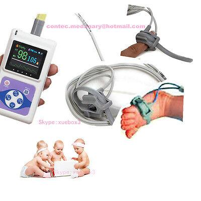 Neonatal Infant Pediatric Kids Born Pulse Oximeter Spo2 Monitor Pc Software Fda.