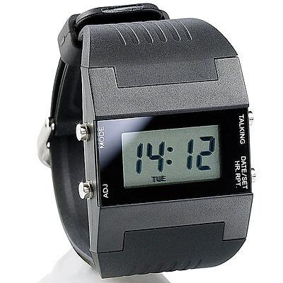 Damenuhren: Sprechende Damen-Armbanduhr mit Weckfunktion