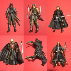 Fantasy Figure Lot Skyrim Lord of The Rings and Game of Thrones