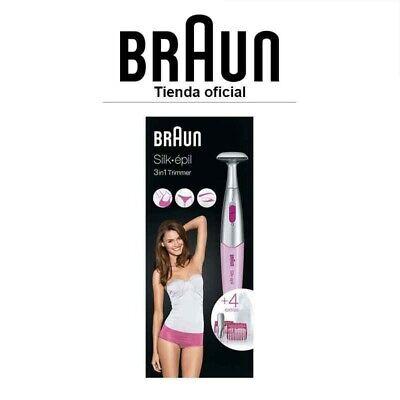 Depiladora de precisión Braun Silk-épil FG1100 - Para zona del bikini y...