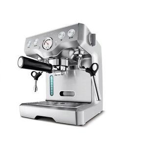 Breville Die-Cast Programmable Espresso Coffee Machine BES830XL