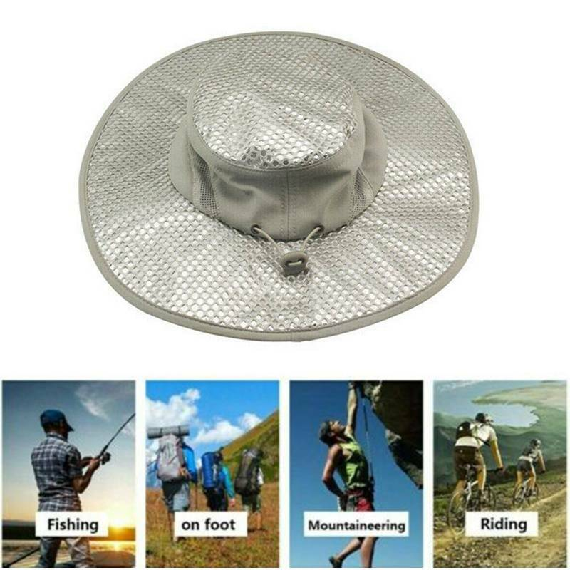 Outdoor Arctic Hat Hydro Cooling Bucket UV Proof Ice Cap Sun