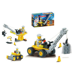 LEGO-COMPATIBLE: CONSTRUCTION CRANE - NEW!!! Regina Regina Area image 1