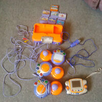 vtech for kids plus a portable one