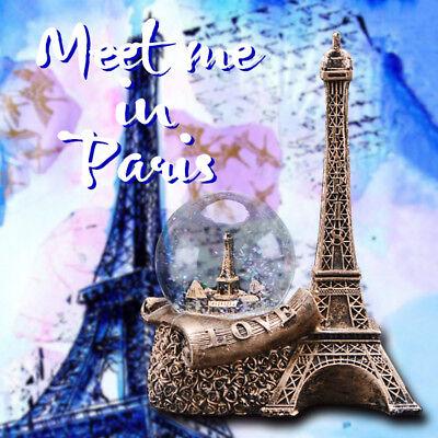 Glitter Globes (WR Water /Snow Globe Glitter Paris Landmark Eiffel Tower Love Girl Birthday)