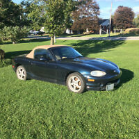 Reduced 1999 Mazda MX-5 Miata Convertible