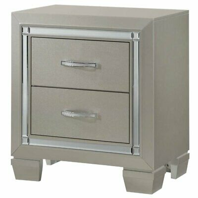 Picket House Furnishings Glamour Youth 2 Drawer - 2 Drawer Youth Nightstand
