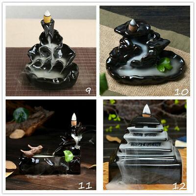 Sandalwood Cones Backflow Censer Craft  Incense Burner Holder