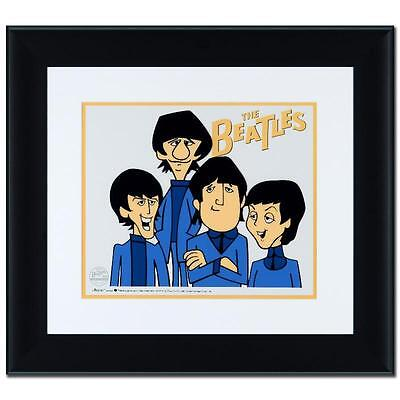"""The Beatles!""  Peter, Paul, John and Ringo Limited Edition Sericel Framed"