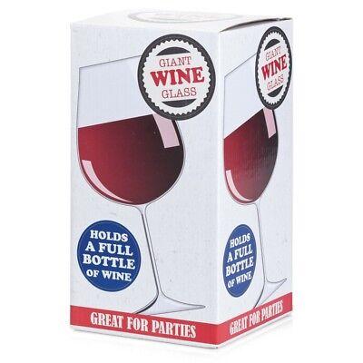 Gigante Copa de Vino - 07782 Contiene un Completo 75CL Botella Para...