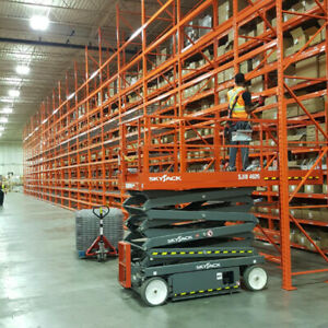 Pallet rack, cantilever racking, shelving and more for sale
