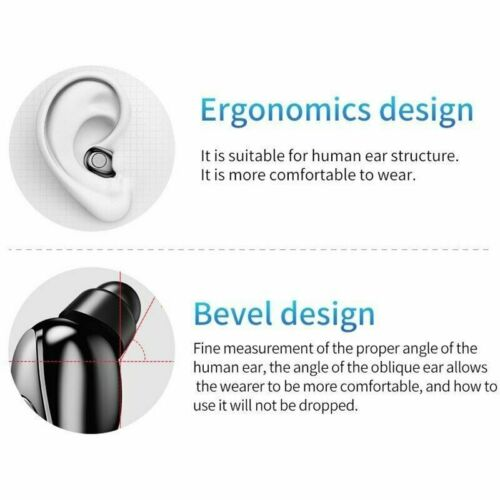 Waterproof Bluetooth 5.0 Earbuds Headphones Wireless Headset Noise Cancelling Consumer Electronics