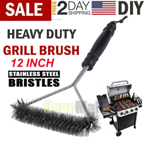 Outdoor Picnics Grill Daddy Cleaner BBQ Brush Cleaning Tools Steel Wire VC