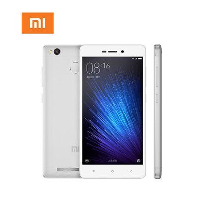 "New XiaoMi RedMi 3x 13MP Camera Dual Sim LTE 4G 5"" 32GB 2GB Smartphone - Silver"