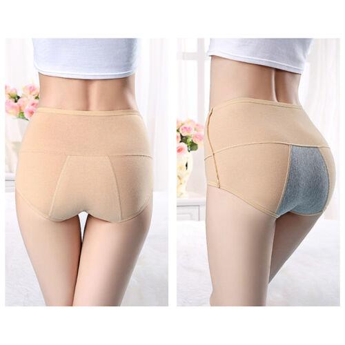 Womens Panties Menstrual Sanitary Period Leak Proof Briefs Seamless Underwear US 5
