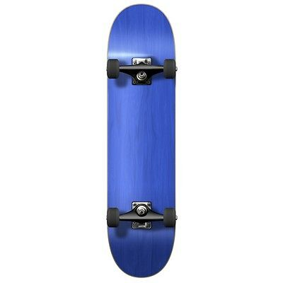Yocaher Blank Complete Skateboard - Stained Blue