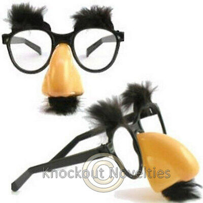 Groucho Glasses Funny Novelty Eyeglasses Costume - Groucho Costume