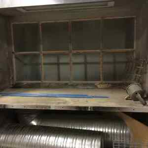 Stand-Up Paint Booth