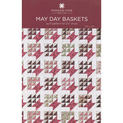 May Day Baskets Quilt Pattern for 2-1/2