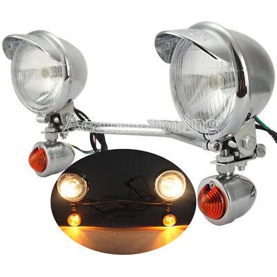 Passing Turn Signal Light Bar Fit Suzuki Marauder VZ 800 1600 Boulevard C50 C90