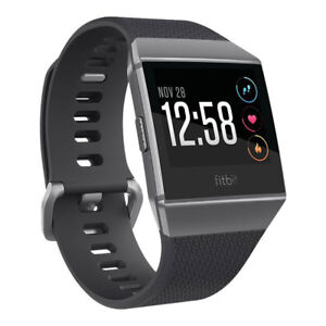 Fitbit Ionic colour dark grey in perfect conditions