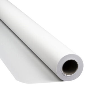 White seamless paper background