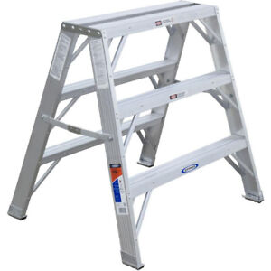 2 - NEW Werner TW370-30 Series Step Stands