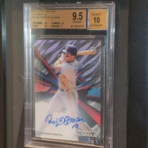 Baseball cards for sale Toronto Blue Jays Autos Jerseys Graded